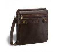Кожаная сумка через плечо BRIALDI Nevada (Невада) brown BR02986SH