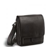 Кожаная сумка через плечо BRIALDI Lucca (Лукка) black в магазине Galantmaster.ru фото