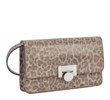 Элегантная сумочка-клатч BRIALDI Paola (Паола) velour leopard