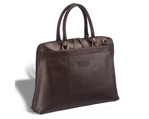 Женская деловая сумка BRIALDI Augusta (Огасто) relief brown
