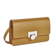 Элегантная сумочка-клатч BRIALDI Paola (Паола) relief yellow