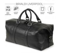 Дорожно-спортивная сумка BRIALDI Liverpool (Ливерпуль) relief black в магазине Galantmaster.ru фото