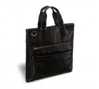 Оригинальная деловая сумка BRIALDI Cavalese (Кавалезе) black BR01017PD