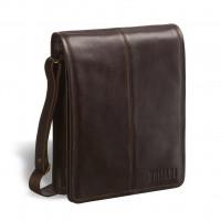 Кожаная сумка через плечо BRIALDI Boston (Бостон) brown