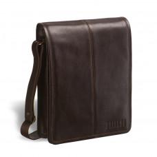Кожаная сумка через плечо BRIALDI Boston (Бостон) brown в магазине Galantmaster.ru фото