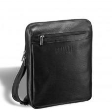 Кожаная сумка через плечо BRIALDI Thoreau (Торо) relief black в магазине Galantmaster.ru фото