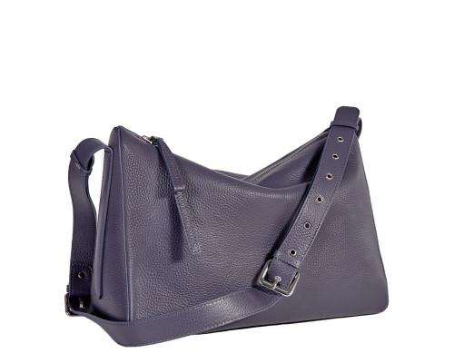 Вместительная женская сумка BRIALDI Fiona (Фиона) relief purple