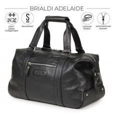 Спортивная сумка малого формата BRIALDI Adelaide (Аделаида) relief black