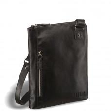 Кожаная сумка через плечо BRIALDI Gaeta (Гаета) black в магазине Galantmaster.ru фото