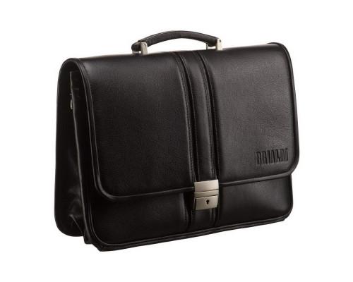 Классический портфель BRIALDI Imperia (Империя) black