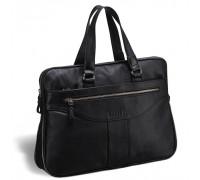 Деловая сумка для документов BRIALDI Paterson (Патерсон) black в магазине Galantmaster.ru фото