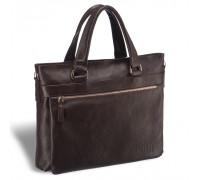 Деловая сумка для документов BRIALDI Bosco (Боско) relief brown