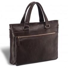 Деловая сумка для документов BRIALDI Bosco (Боско) relief brown в магазине Galantmaster.ru фото