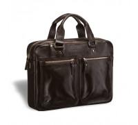 Деловая сумка для документов BRIALDI Parma (Парма) brown в магазине Galantmaster.ru фото