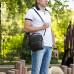 Кожаная сумка через плечо BRIALDI Exeter (Эксетер) relief brown в магазине Galantmaster.ru фото 19