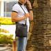 Вертикальная сумка через плечо BRIALDI Taller (Таллер) relief brown в магазине Galantmaster.ru фото 15