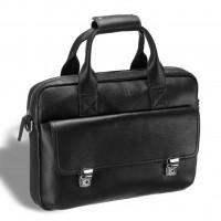 Мужская деловая сумка BRIALDI Greensboro (Гринсборо) relief black