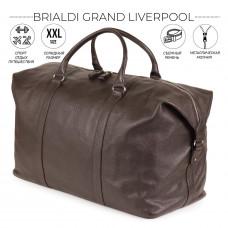 Дорожно-спортивный баул BRIALDI Grand Liverpool (Гранд Ливерпуль) relief brown в магазине Galantmaster.ru фото