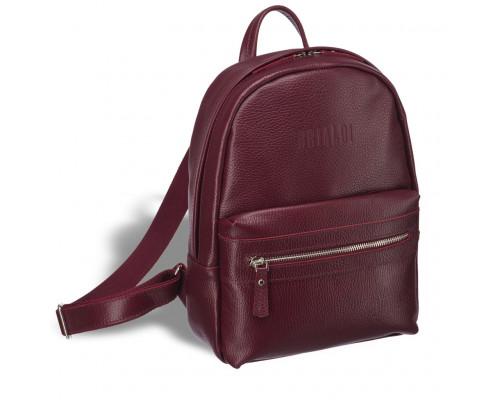 Женский стильный рюкзак BRIALDI Leonora (Леонора) relief cherry
