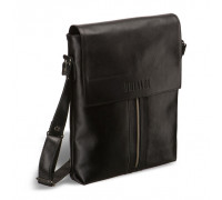 Кожаная сумка через плечо BRIALDI Positano (Позитано) black