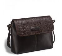 Женская сумочка через плечо BRIALDI Cristo (Кристо) brown в магазине Galantmaster.ru фото