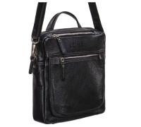 Кожаная сумка через плечо BRIALDI Preston (Престон) black