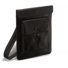 Кожаная сумка через плечо BRIALDI Nettuno (Неттуно) black в магазине Galantmaster.ru фото