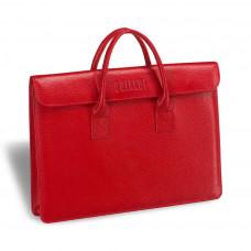 Женская деловая сумка BRIALDI Vigo (Виго) relief red в магазине Galantmaster.ru фото