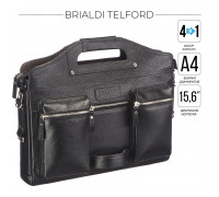 Универсальный портфель BRIALDI Telford (Телфорд) relief black