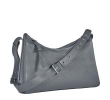 Вместительная женская сумка BRIALDI Fiona (Фиона) relief grey