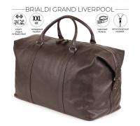 Дорожно-спортивный баул BRIALDI Grand Liverpool (Гранд Ливерпуль) relief brown