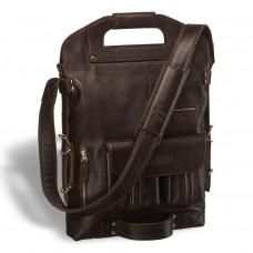 Универсальная сумка BRIALDI Flint (Флинт) brown в магазине Galantmaster.ru фото
