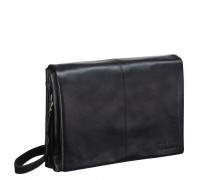 Кожаная сумка через плечо BRIALDI Chelsea (Челси) black