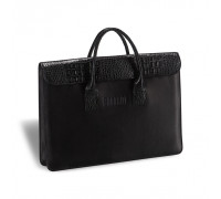 Женская деловая сумка BRIALDI Vigo (Виго) black в магазине Galantmaster.ru фото