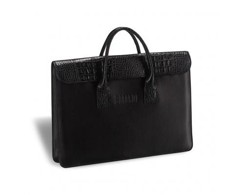 Женская деловая сумка BRIALDI Vigo (Виго) black