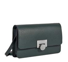 Элегантная сумочка-клатч BRIALDI Paola (Паола) relief green