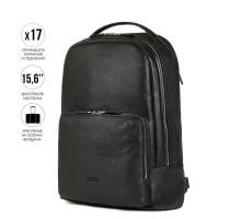 Мужской рюкзак BRIALDI Galaxy (Галакси) relief black