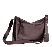Вместительная женская сумка BRIALDI Fiona (Фиона) relief burgundy