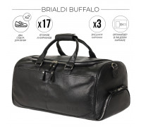 Дорожно-спортивная сумка BRIALDI Buffalo (Буффало) relief black BR44581YD