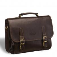 Классический деловой портфель BRIALDI Faraday (Фарадей) brown