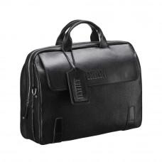 Деловая сумка для города BRIALDI Seattle (Сиэтл) black в магазине Galantmaster.ru фото