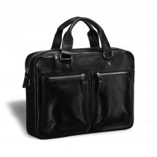 Деловая сумка для документов BRIALDI Parma (Парма) black в магазине Galantmaster.ru фото