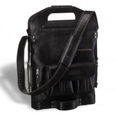 Универсальная сумка BRIALDI Flint (Флинт) black edition в магазине Galantmaster.ru фото