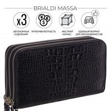 Клатч BRIALDI Massa (Масса) croco black