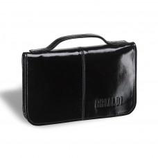 Мужской клатч BRIALDI Utah (Юта) shiny black в магазине Galantmaster.ru фото