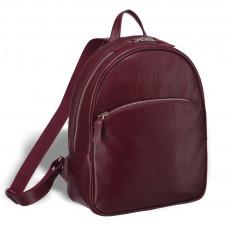 Удобный женский рюкзак BRIALDI Melbourne (Мельбурн) relief cherry в магазине Galantmaster.ru фото