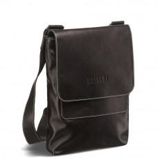 Кожаная сумка через плечо BRIALDI Pigna (Пинья) black в магазине Galantmaster.ru фото