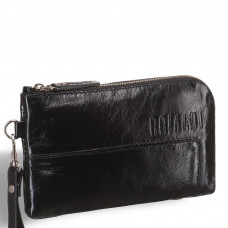 Мужской клатч BRIALDI Mobile (Мобил) shiny black в магазине Galantmaster.ru фото