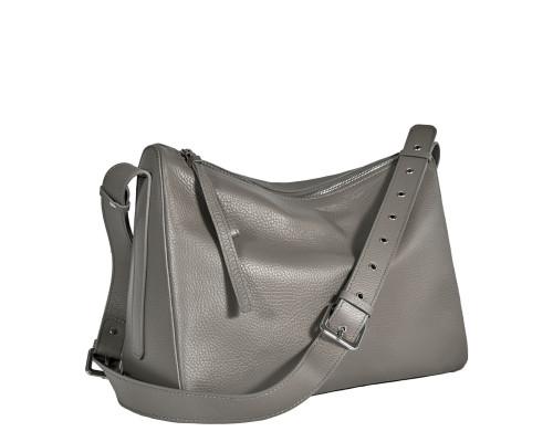 Вместительная женская сумка BRIALDI Fiona (Фиона) relief quartz