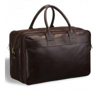 Дорожная сумка с портпледом BRIALDI Lancaster (Ланкастер) brown BR07402CA